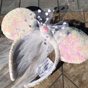 Minnie mouse Veil ears